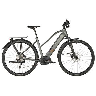 Bicicletta da Viaggio Elettrica KALKHOFF ENTICE 5.B TOUR 500 TRAPEZ Donna Grigio 2019